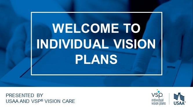 USAA - VSP Individual Vision Plans Training   OE 2020