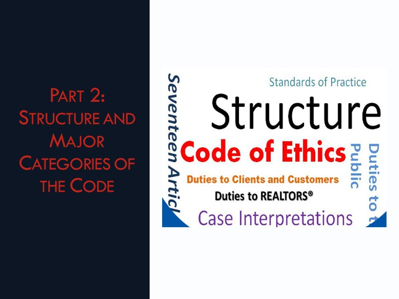 Code of Ethics: Our Promise of Professionalism